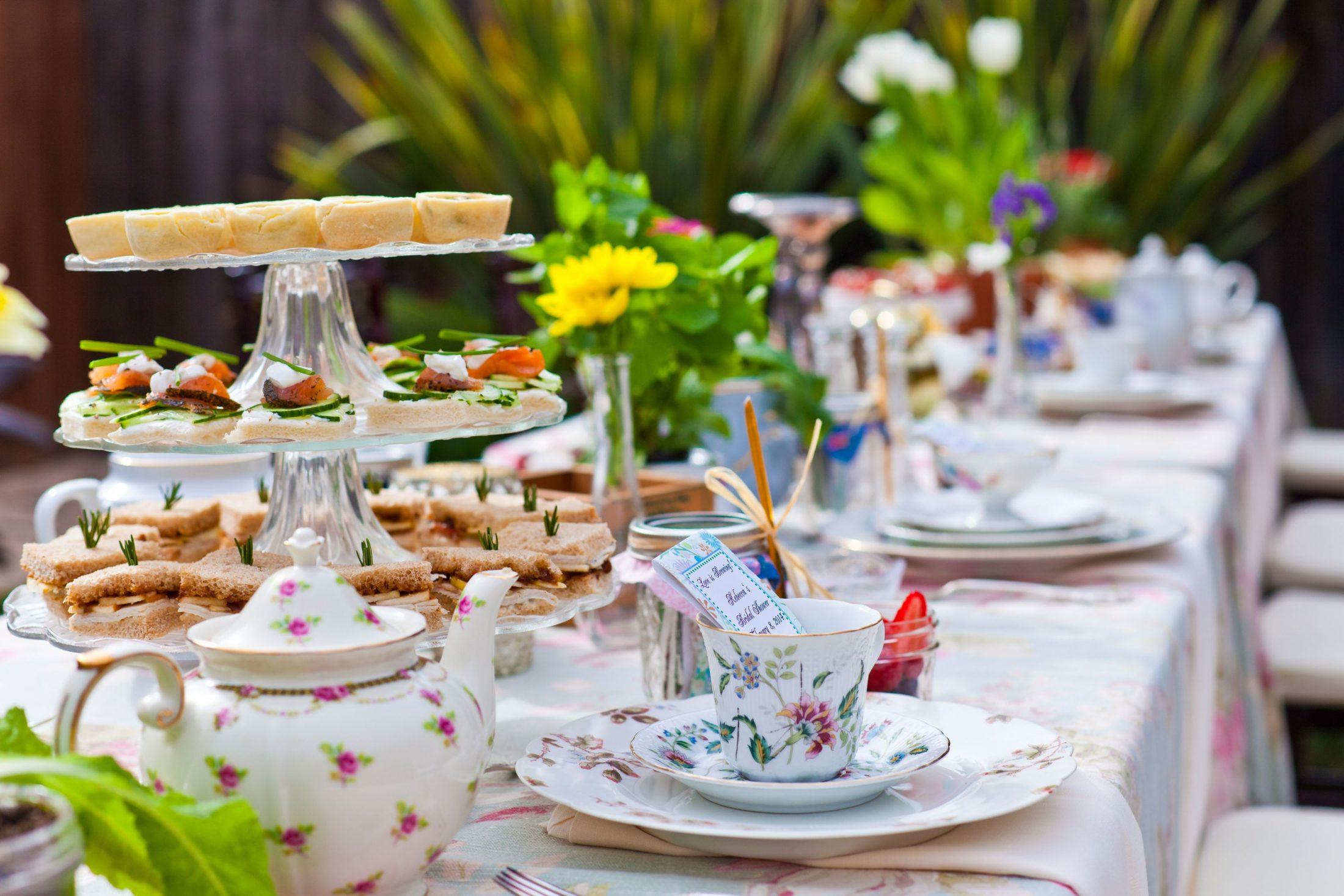 Teaparty: Tea Party Bridal Shower In Goleta, CA